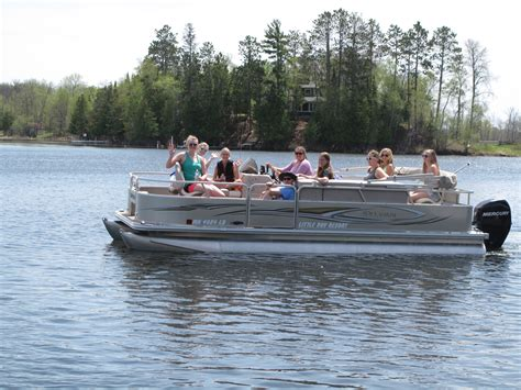 Daily Boat Rental Mn by Longville Minnesota Boat Rentals Pontoon And Fishing