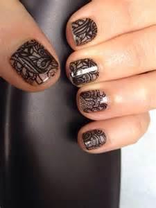 Black Lace Jamberry Nail Wraps