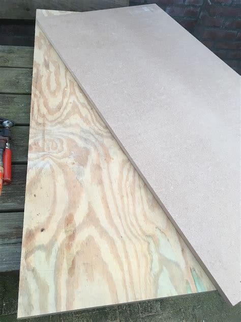 mdf  plywood   workbench top woodworking