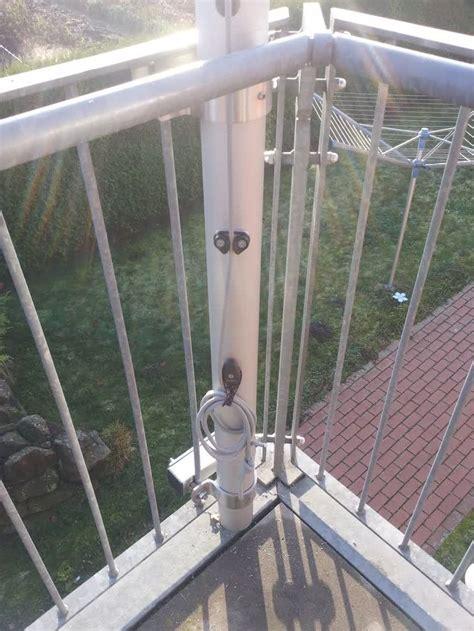Befestigung Sonnensegel Balkon by Sonnensegel Befestigung Auf Einer Dachterrasse Am