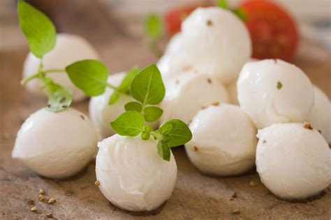 mozzarella cheese fresh mozzarella varieties types and fillings