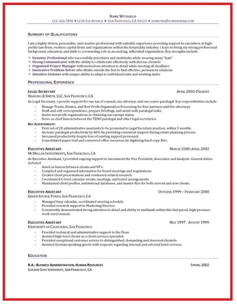 Resume Objective Executive Assistant by Administrative Assistant Resume Objective Ideas Http