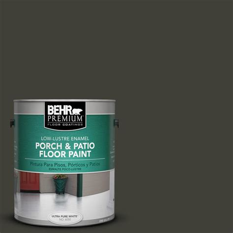 behr premium 1 gal ppu18 20 broadway low lustre porch and patio floor paint 630001 the home