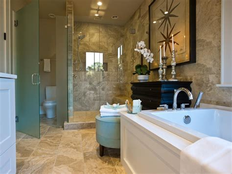 hgtv dream home  master bathroom pictures  video