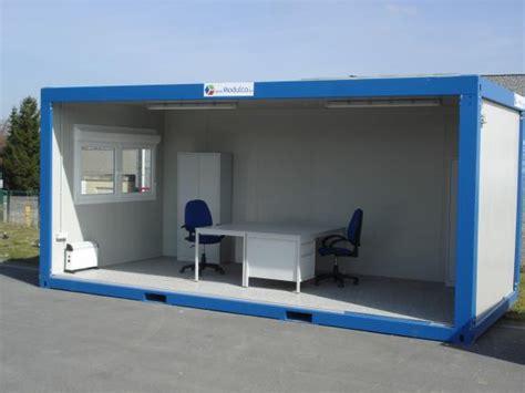 container bureau monoblocco prefrabbricato standard vendita e noleggio