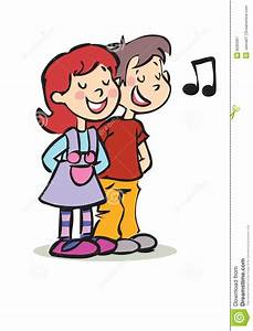 Girl Singing Clipart - Clipart Suggest