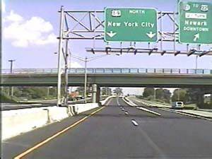 Pictures Of The Pulaski Skyway Approach  Us 1 U00269