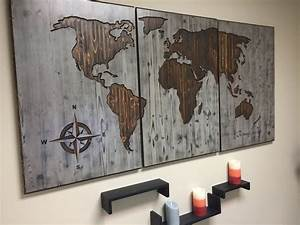 rustic world map cabinet side panels into the glass With kitchen cabinets lowes with globe map wall art