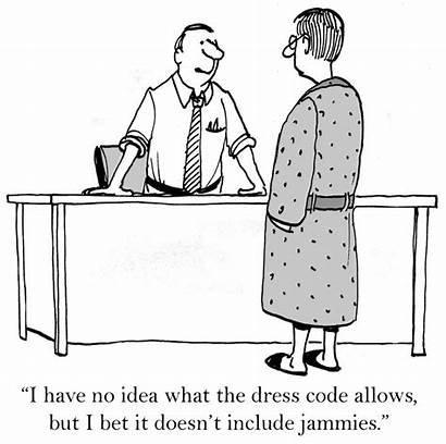 Code Cartoon Office Cartoons Working Company Casual