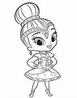 Shine Shimmer Coloring Pages Printable Mermaid Ballerina Cartoon Print Coloringfolder Children Dance sketch template