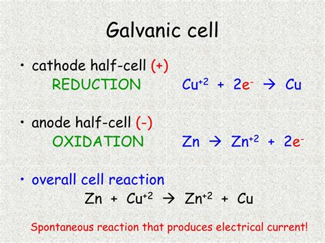 discovering electrochemical cells powerpoint    id