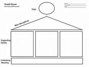 Summarizing nonfiction graphic organizer new calendar for Prewriting outline template