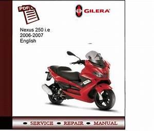 Gilera Nexus 250 I E 06-07 Service Manual