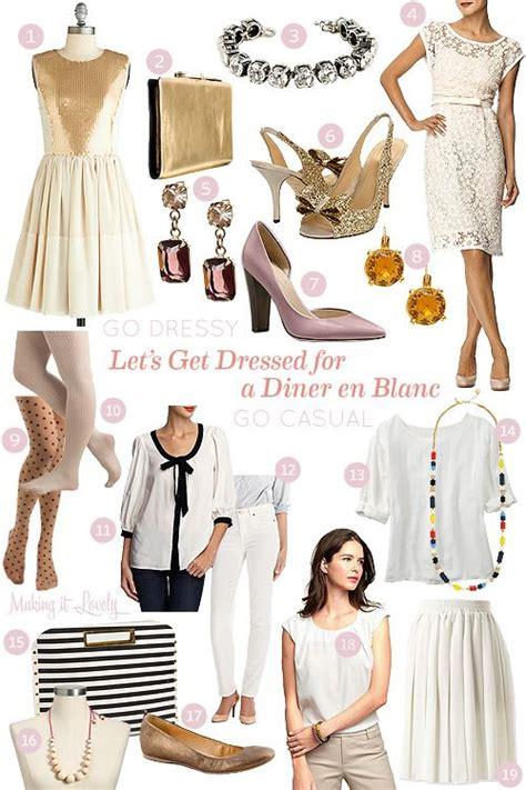 lets  dressed   diner en blanc  dressed