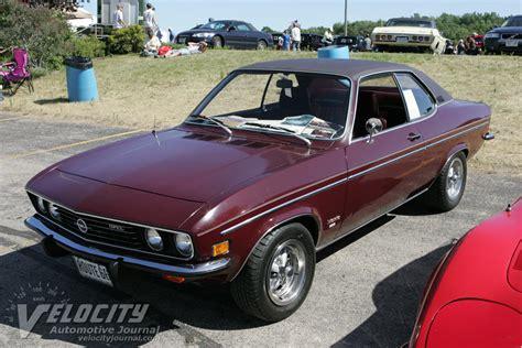 1973 Opel Manta Information