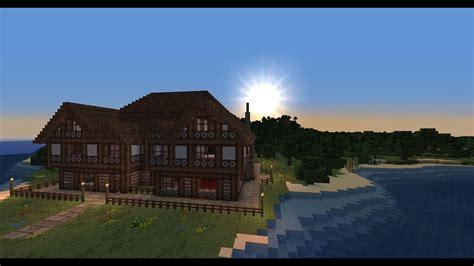 minecraft medieval mansion tutorial part  youtube