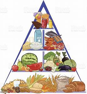 Food Pyramid Stock Vector Art  U0026 More Images Of Apple
