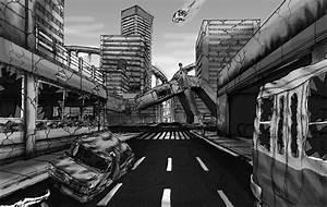 destroyed city 2 by robertokohama on DeviantArt