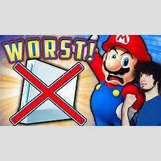Top 10 Worst Nintendo Wii Games!  Pbg Youtube