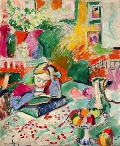 Reading and Art: Henri Matisse