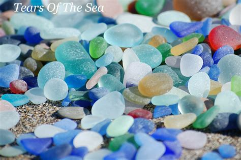 sea glass l a cinderblock that washed up on the after a bit of