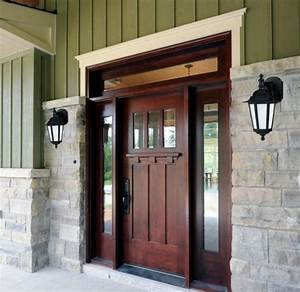 Craftsman, Style, Entry, Doors, Design, Ideas
