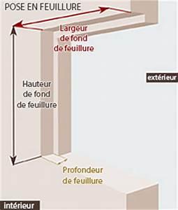 Pose Fenetre En Feuillure : pose fenetre pvc en feuillure wasuk ~ Dailycaller-alerts.com Idées de Décoration