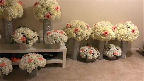 DIY tall wedding centerpiece YouTube