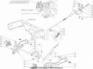 Troy Bilt 17arcacs011 Mustang Xp 42  2017  Parts Diagram