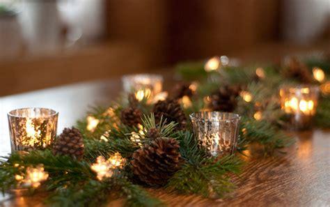Deko Mit Tannenzweigen by Diy Weihnachtliche Tischgirlande Deko Kitchen