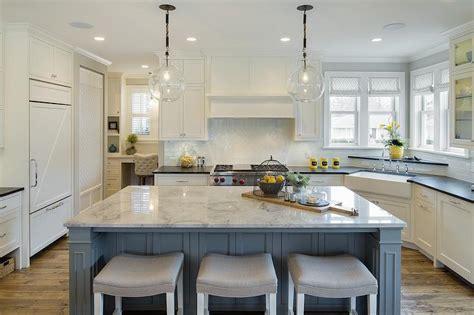 Blue And Yellow Kitchen Design-cottage-kitchen