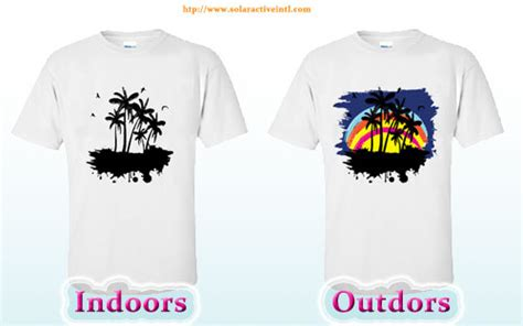 color changing shirts heat press transfer solar active