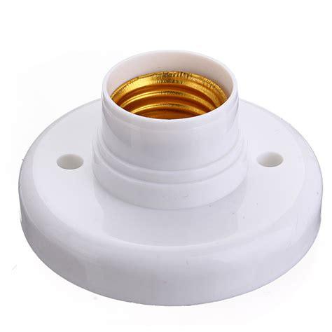 light bulb socket e27 base plastic light bulb l socket holder