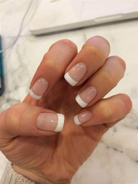 Gel French Manicure BJ31 u00bb Regardsdefemmes