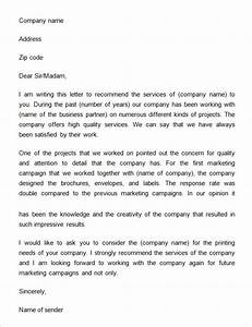 business reference letter 11 download free documents in With recommendation letter for a company template