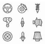 Parts Icon Vector Icons Mechanic Packs Svg
