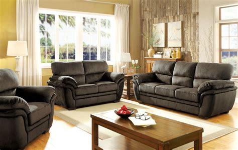 Jaya Dark Brown Living Room Set, Cm6503db-sf, Furniture Of America