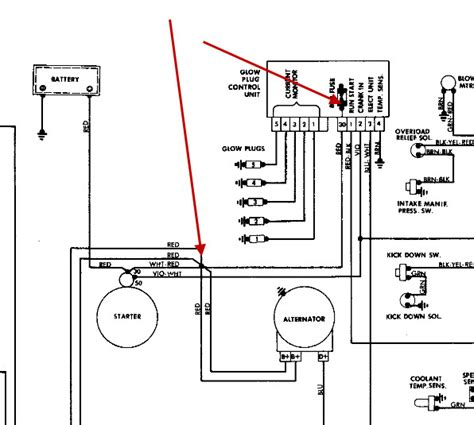 Mercede 300d Alternator Wiring by I A Electrical Problem I Replaced My