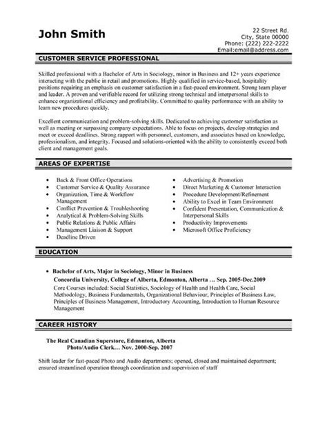 Customer Service Sle Resumes by Pin By Resumetemplates101 On Best Customer Service
