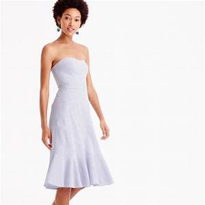 ruffle hem dresses for summer wedding guest season With j crew wedding guest dresses