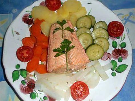 recette cuisine vapeur recette de saumon cuit vapeur a l aioli