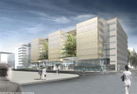 immeuble de bureaux lyon part dieu lancement du chantier de l 39 immeuble de