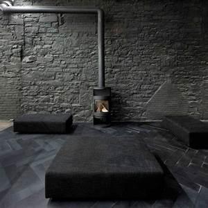 le gris anthracite en 45 photos d39interieur With tapis d entrée avec quel est le meilleur canapé convertible