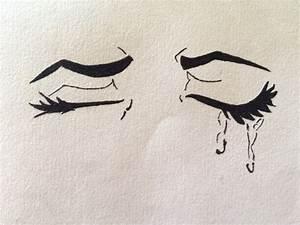 Anime Eyes Closed Crying | www.imgkid.com - The Image Kid ...