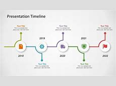 PowerPoint Template of Timeline Concept SlideModel