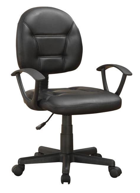 800178 grey leather swivel chair from coaster 800178