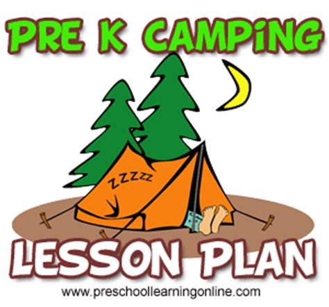 camping projects for preschoolers camping theme preschool activity amp lesson plans 244