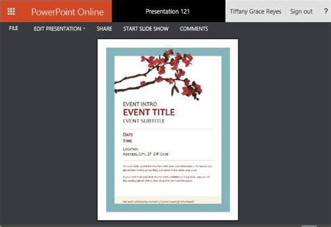 powerpoint flyer template powerpoint templates flyers