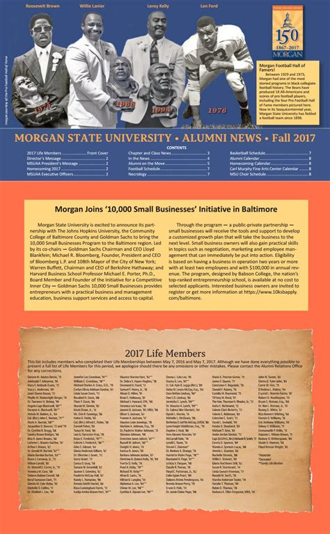 fall  issue  alumni news  morgan state university