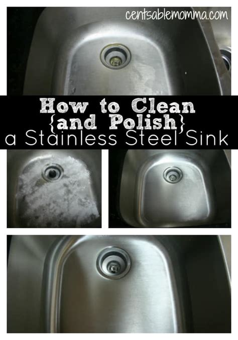 how to shine stainless steel sink how to clean and polish a stainless steel sink